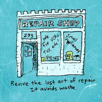 Repair illustration