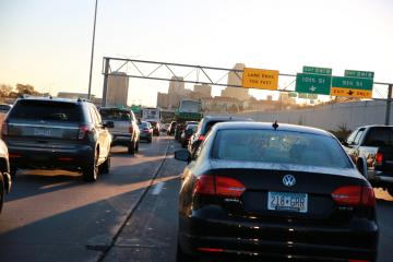 Traffic in St. Paul