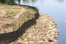 The purpose of the construction stormwater controls is to protect water resources from sediment and other pollutants.
