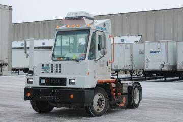 An all-electric terminal tractor