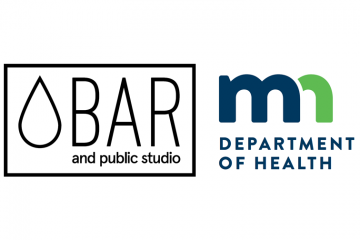 2018 drinking water exhibitors: Water Bar and Public Studio, Minnesota Department of Health