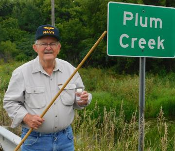 Jerry Finch at Plum Creek