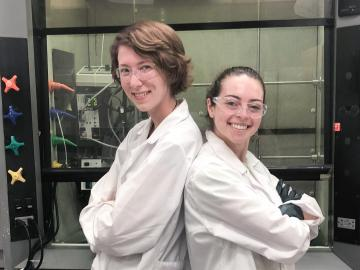 Interns at remooble worked on green chemistry projects.