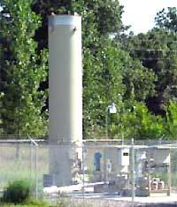 An active gas extraction system prevents landfill gas migration at the Oak Grove landfill in Anoka County.