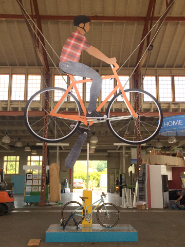 The Giant Bike at Eco Experience 2016